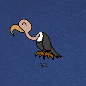 Camisetas Buitre dibujado - Jesu Medina