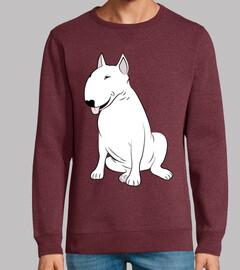 Bull Terrier blanco