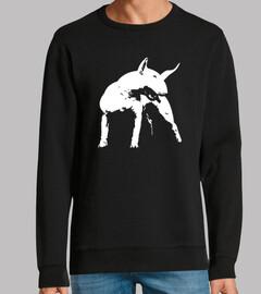 Bull terrier estilo pop art