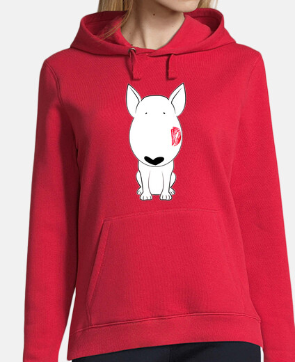 Camiseta Bull Terrier kiss