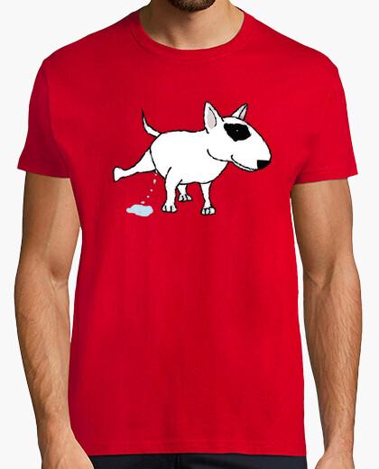 T-shirt bull terrier pis