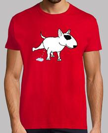 bull terrier pis