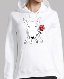Bull terrier rosa