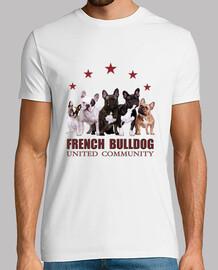 bulldog communauté tricot