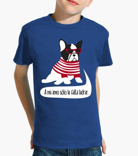 Ropa infantil Bulldog frances hipster