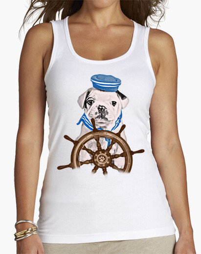 Camiseta BULLDOG MARINERO