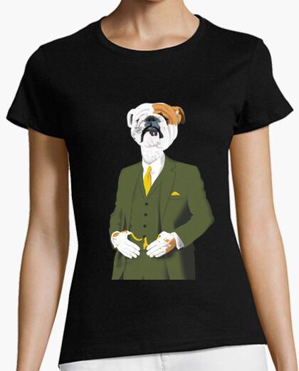Camiseta bulldog refinado