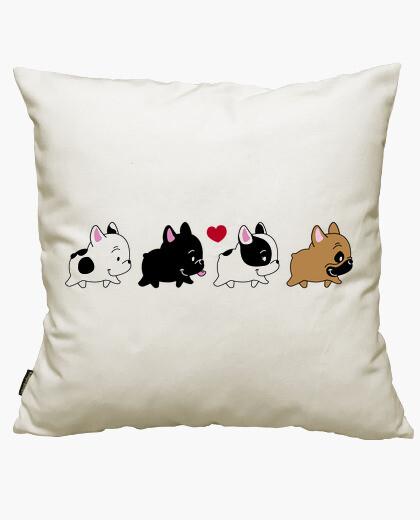 Bulldogs shirt nando cushion cover
