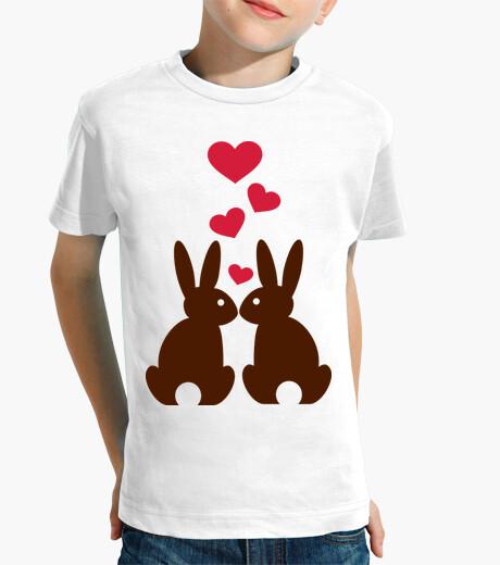Ropa infantil Bunnies hearts love