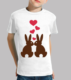 Bunnies hearts love