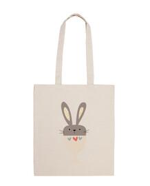 bunny cup shoulder bag (model 2)
