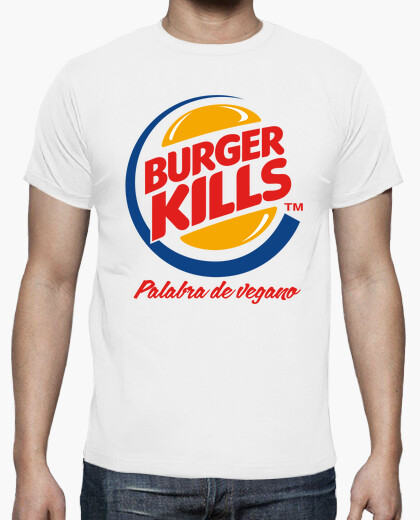 Burger kills t-shirt