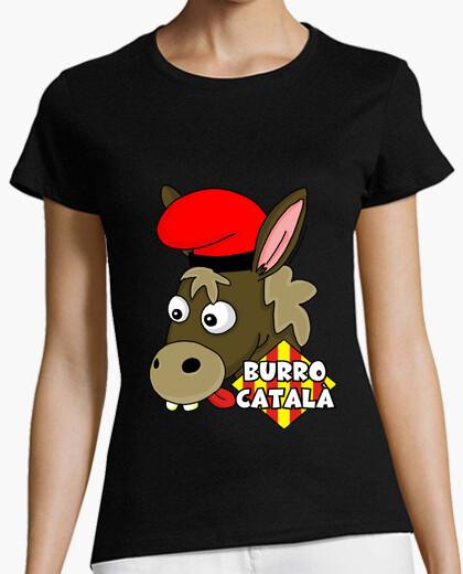 Camiseta Burro català Mujer