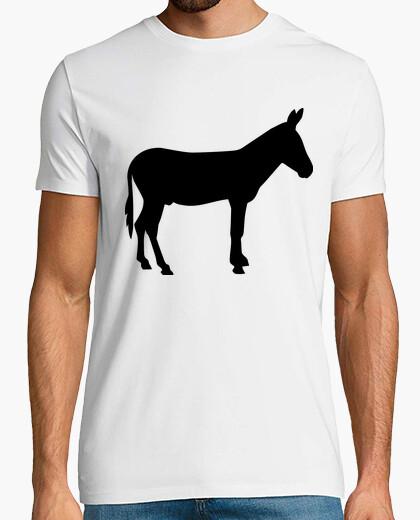 Camiseta burro negro