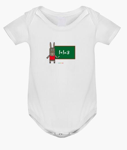 Ropa infantil BURRO PIZARRA BODY