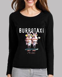 Burro taxi Mijas camiseta manga larga Chica