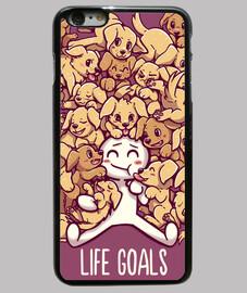 buts de la vie - cas de téléphone