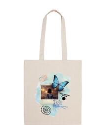 butterfly - foto - la vita è strana (bianco)