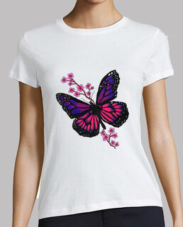 butterfly with blossom