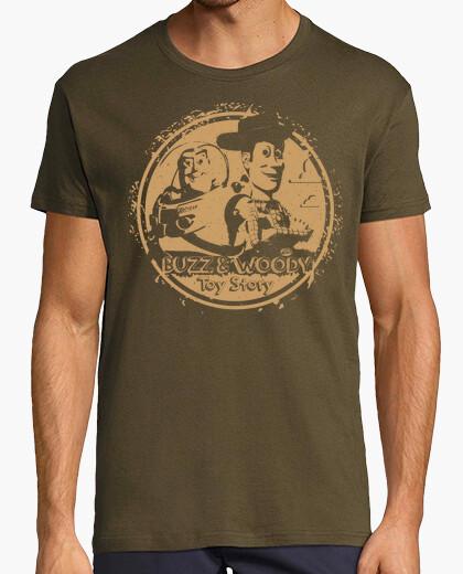 Tee-shirt buzz et woody