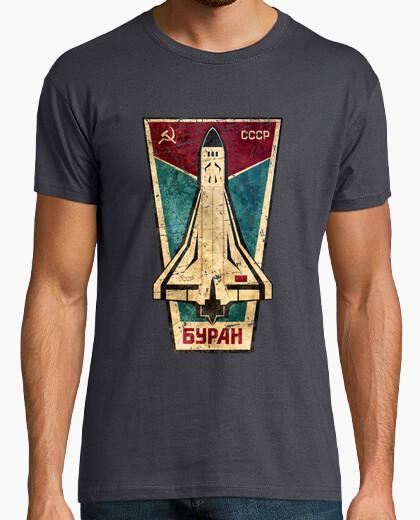 Tee-shirt bypah navette spatiale emblème cccp