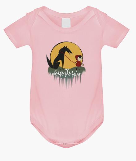 Vêtements enfant c ape rouge féministe rucita contger le