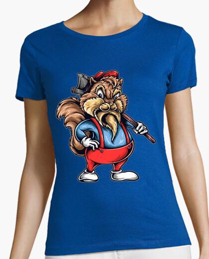 T-shirt c hip wood taglierina