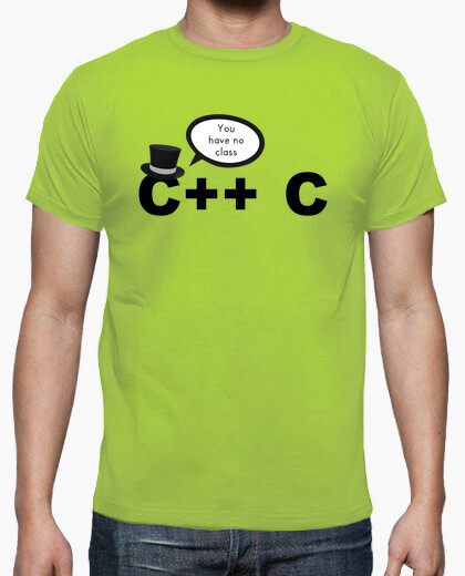 C to c - you have no class t-shirt
