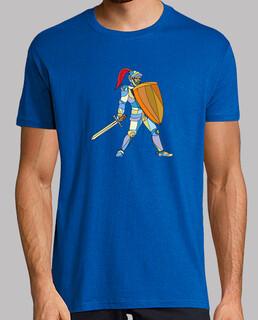 caballero de armadura con la espada defender m