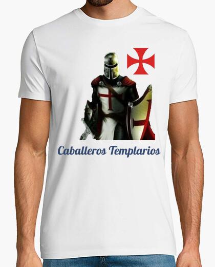 Camiseta Caballero Templario y Cruz de la orden del Temple