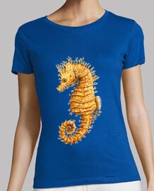 Caballito de mar Hippocampo camiseta mujer