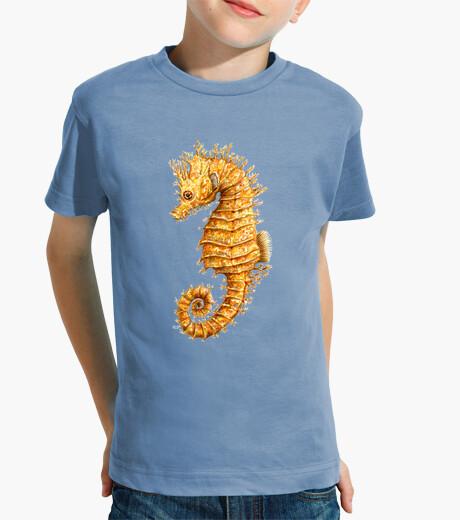 Ropa infantil Caballito de mar Hippocampo camiseta niño