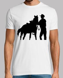 caballo del vaquero