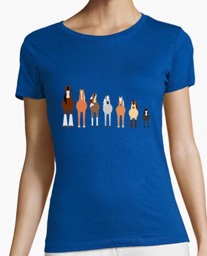 Camiseta Caballos