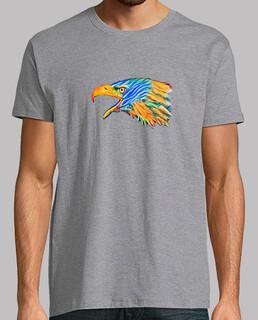 Cabeza Águila Impresionista