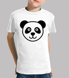 cabeza de la panda