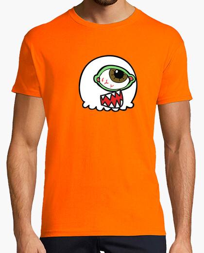 Camiseta Cabeza de marciano con un solo ojo