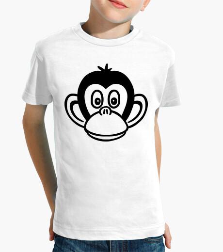 Ropa infantil cabeza de mono