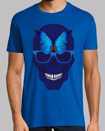 cabeza de muerte grulla mariposa