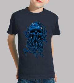 cabeza pulpo azul