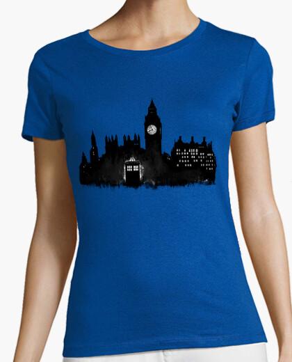 Camiseta cabina de policía en londres