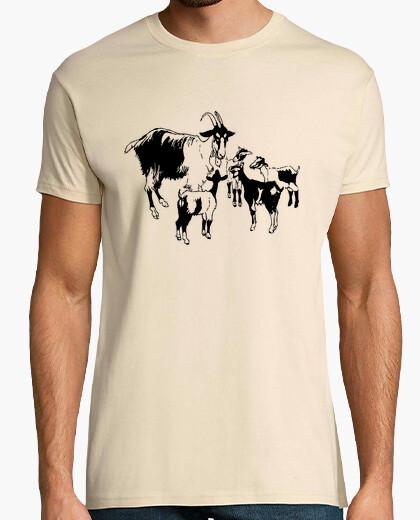Camiseta cabras