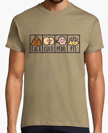 Camiseta Caca Culo Pedo Pis