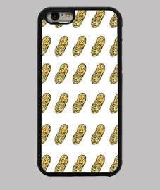 Cacahuetes Funda iPhone 6, negra