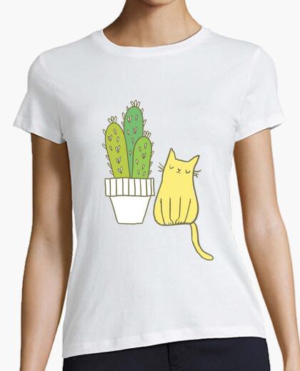 Camiseta Cactus-cat
