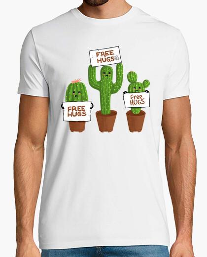 Camiseta cactus de abrazos gratis