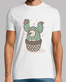 Cactus Hedgehog - Maglietta uomo