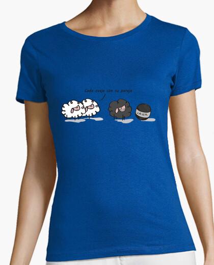 2797935e7 Camiseta Cada oveja con su pareja - nº 902519 - Camisetas latostadora