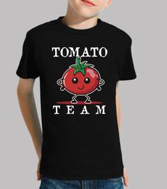 cadeau enfants équipe tomate