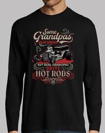 cadeau rétro t-shirt pour les grands-parents rockers vintage hotrod USA rock and roll